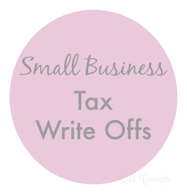 Small Business Tax Write Offs | Imperfect Concepts