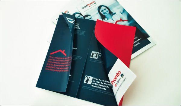 Folder para apresentação corporativa