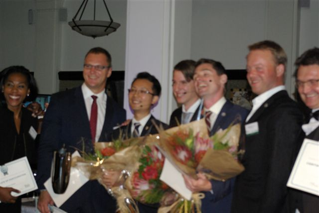 WOSA Sommelier Cup finalists with 3 winners