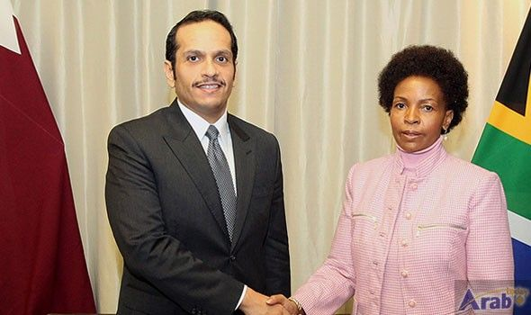 Foreign Minister Meets South African International Relations…