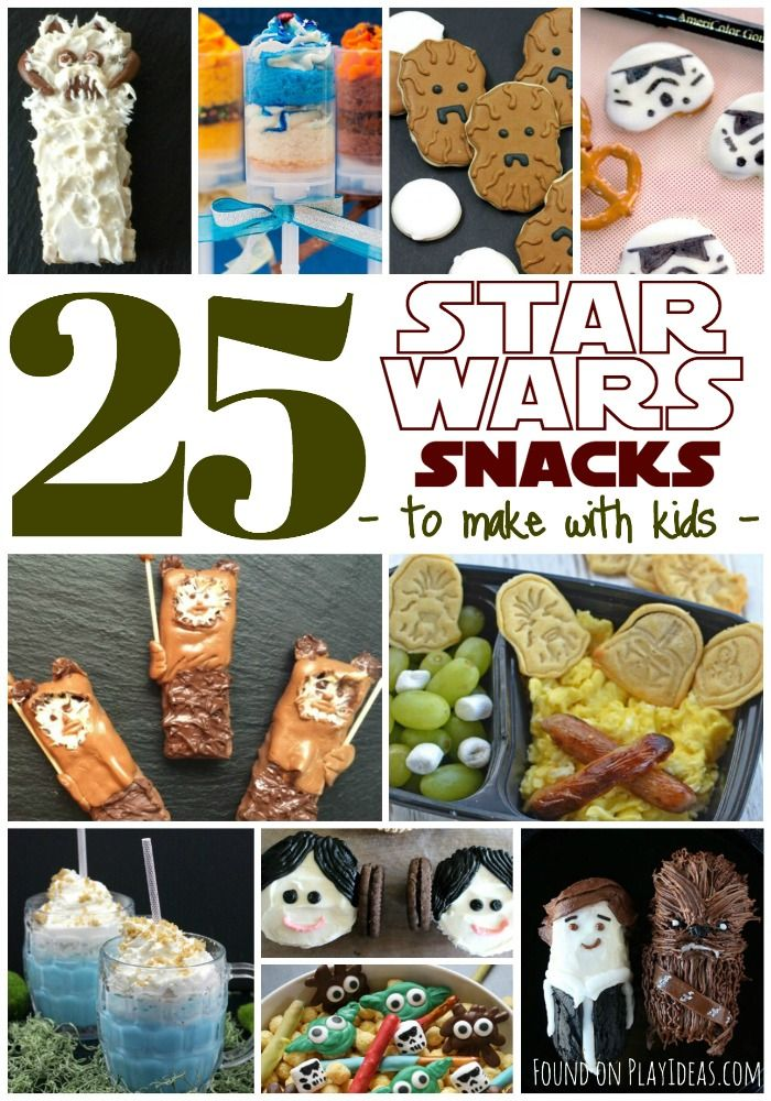 25 Star Wars Snacks To Make With Kids