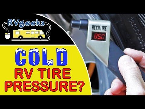 How to Prevent Artificially Inflated Readings on RV Tires