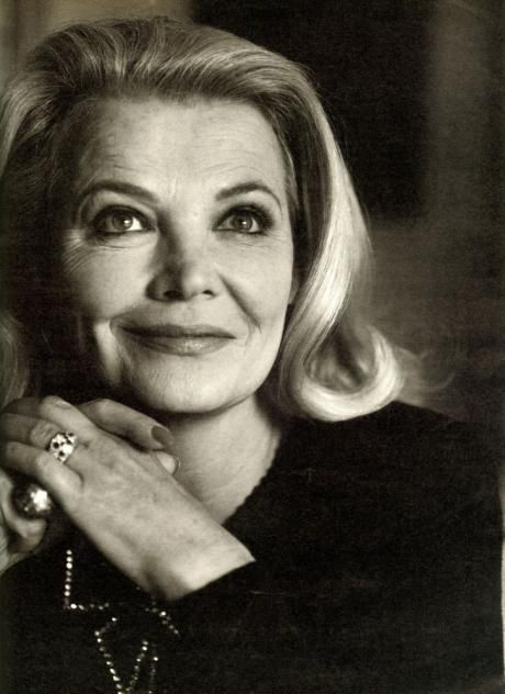 Gena Rowlands. Photo Bruce Weber.