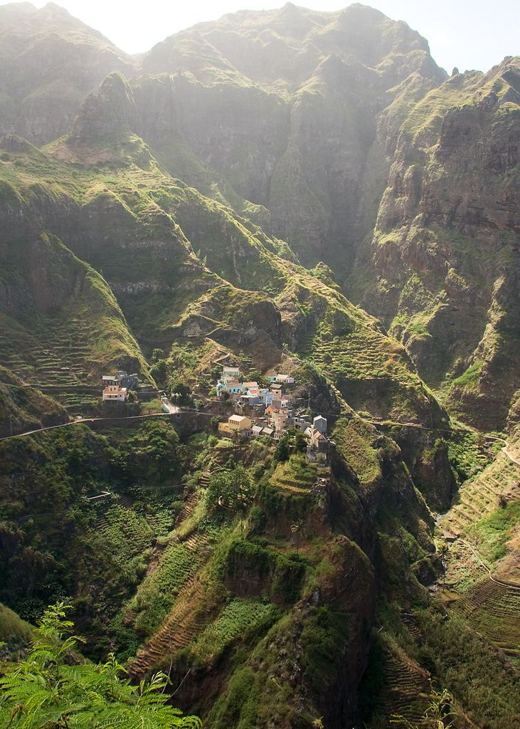 Fontainhas, Island of Santo Antão, Cape Verde https://www.stopsleepgo.com/vacation-rentals/cape-verde