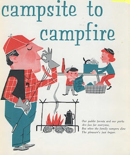 Willis Talk: Retro Book: Camping and Outdoor Cooking