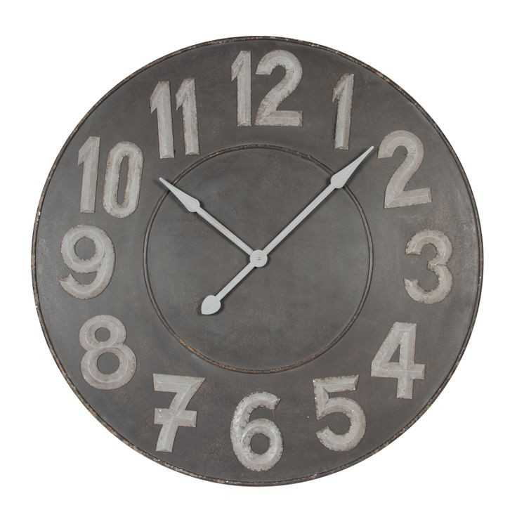 Give a nice #vintage look to your home with this Luberon #clock #frenchfurniture #homeaccessories