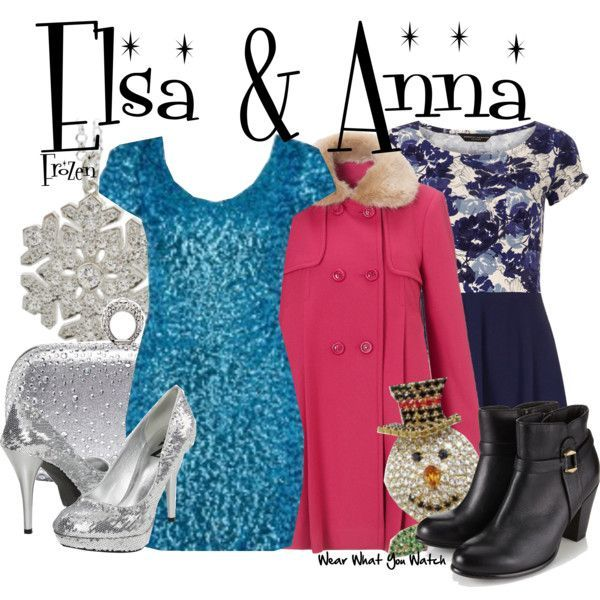 Inspired by Idina Menzel (voice) & Kristen Bell (voice) as Princesses Elsa & Anna from Disney's Frozen (out in theaters Novemb...
