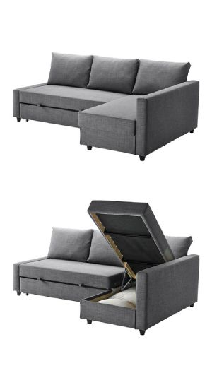 Ikea FRIHETEN sofa. Perfect.