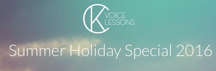 """Summer Holiday  Special 2016 - wir bieten unsere 4er-Karte vom 18.08. - 04.08.2016 für Gesangsunterricht in Hannover oder Online zum """"Special-Price"""" an. Gutscheine sind limitiert also Informiere Dich jetzt !  Klicke hier !  https://ckvoicelessons.de/gutschein-gesangsunterricht/  #gesangsunterricht #gesang #vocalcoach #vocalist #ck #ckvoicelessons #vocal #hannoverstagram #hannoverliebe #instacool #instalove #s…"""