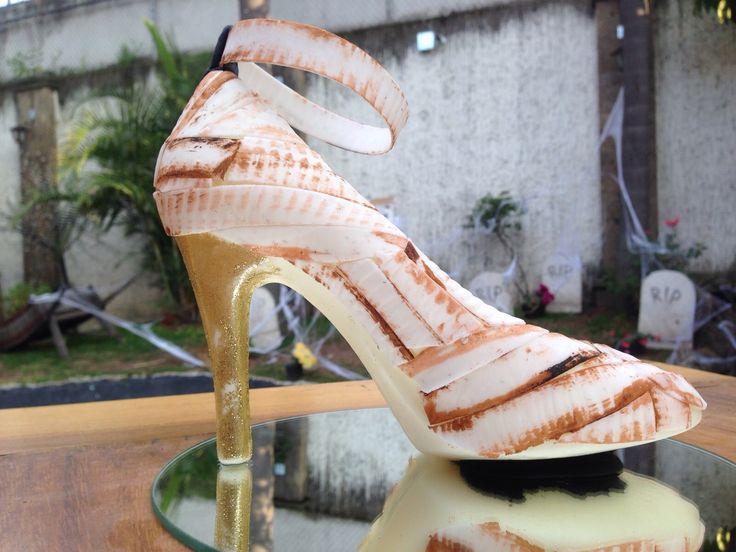 CLEOPATRA en Monster Rose. Zapatillas de chocolate especial de Halloween. www.lamansionrosa.com