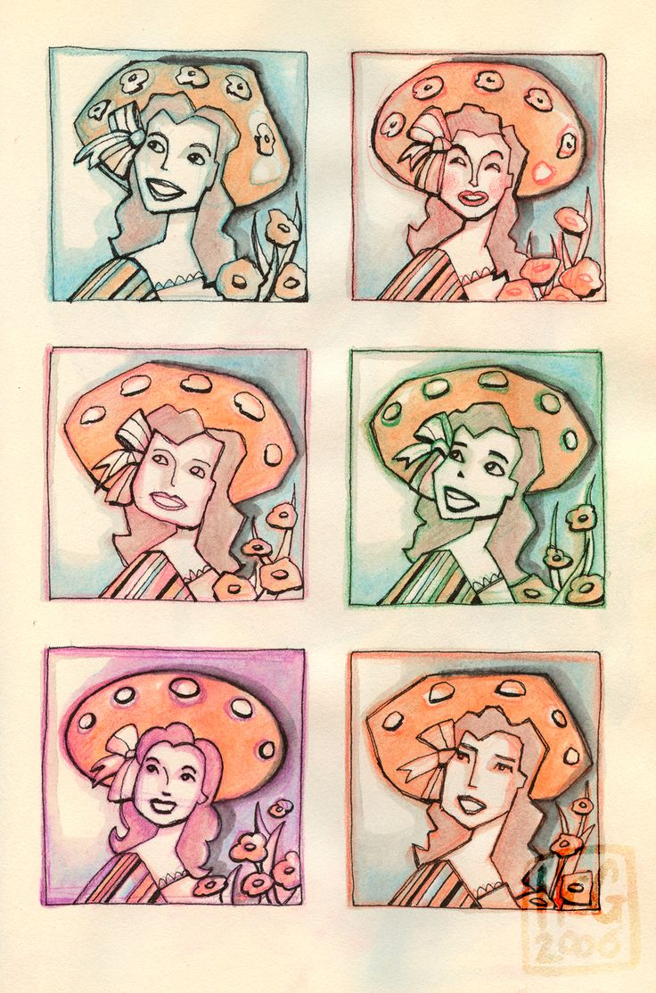Doodles / Illustraties uit Dummy 10 By Hilda Groenesteyn