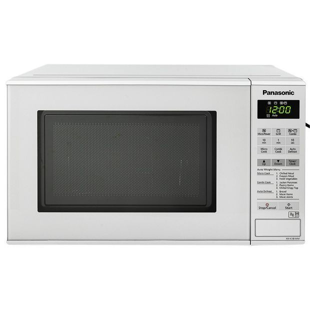 Buy Panasonic NN-K181MMB 20L 800W Grill Touch Microwave -Silver at Argos.co.uk, visit Argos.co.uk to shop online for Microwaves, Kitchen electricals, Home and garden