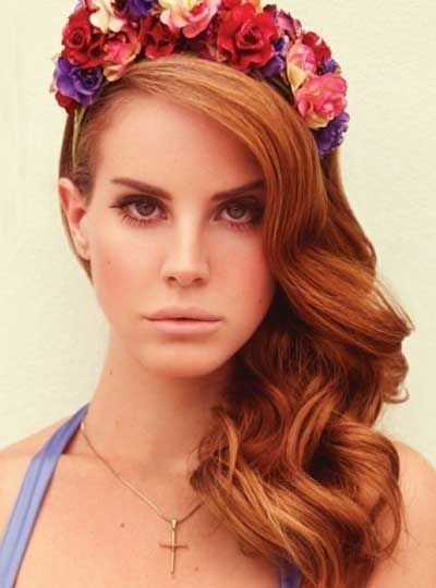lana del rey hairstyle curls - photo #22