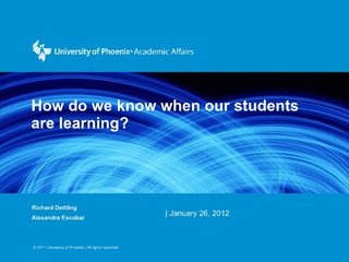 formative-assessment-classroom-techniques-using-blooms-mastery-learning-model by Richard Dettling via Slideshare