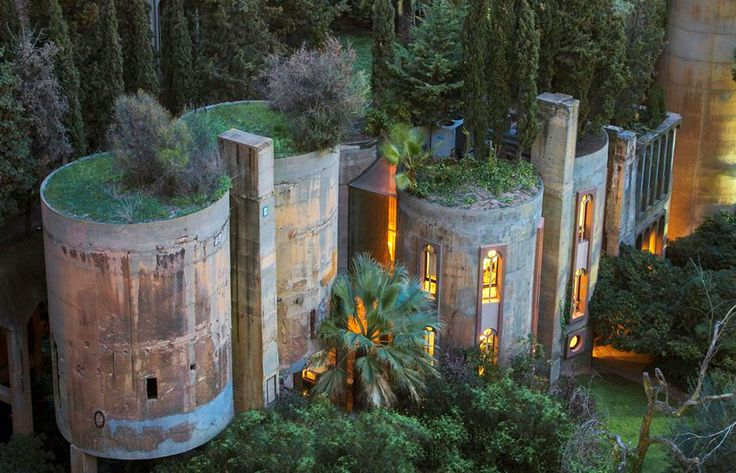 Architect turns old cement factory into incredible fairytale home – and the interior will blow you away