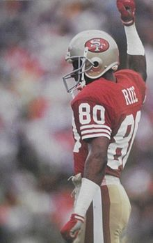 #1 NFL player - Jerry Rice - Wikipedia, the free encyclopedia