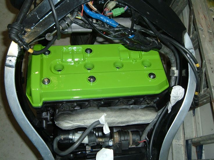 Lime green rocker cover, just because.