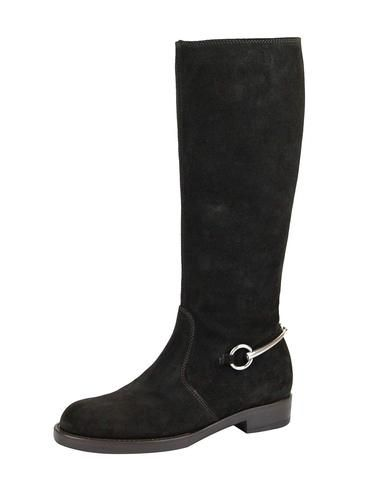 403e42dfdb9 Hury! Gucci Horsebit Flat Suede Tall Knee Boots 354004  shoes ...