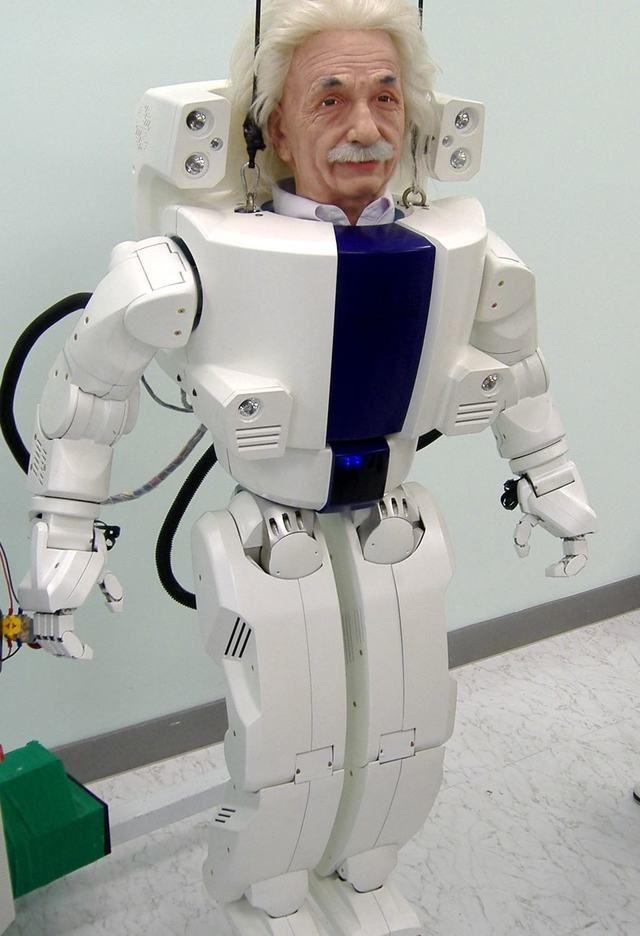 Hanson Robotics показала на CES2017 мини-Энштейна