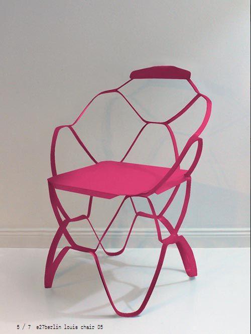 Louis Chair By E27. FotographieArchitekturStuhl Design ProduktdesignKlappstuhlSchnittpapierBücherschränkeStühleSofastuhl