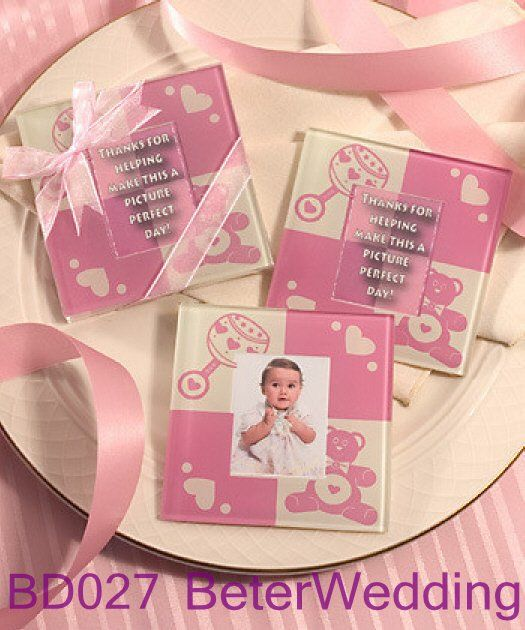 8 pcs 4 ensemble bébé mignon ours en peluche rose photo en verre coaster set bébé faveurs de mariage et decoration@wholesale bd027 douches de bébé    2013 New Arrival Wedding Gifts, Pratical Party Favors at BeterWedding, Shanghai Beter Gifts Co Ltd. Retail http://fr.aliexpress.com/store/512567 Wholesale mail to BeterWedding@Gmail.com