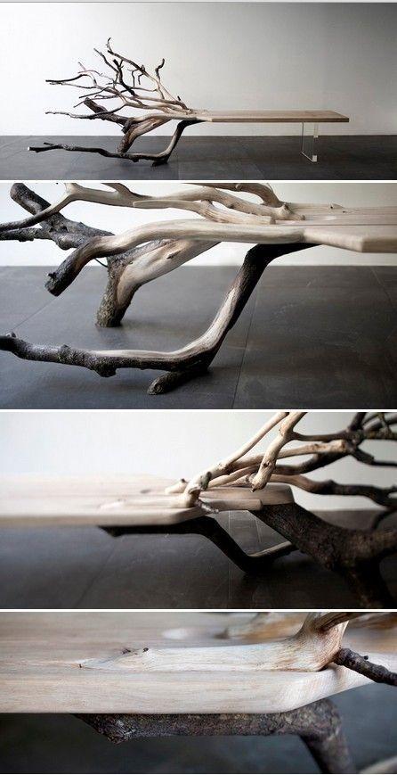 FallenTree: Half Tree, Media Bench por Benjamin Graindorge