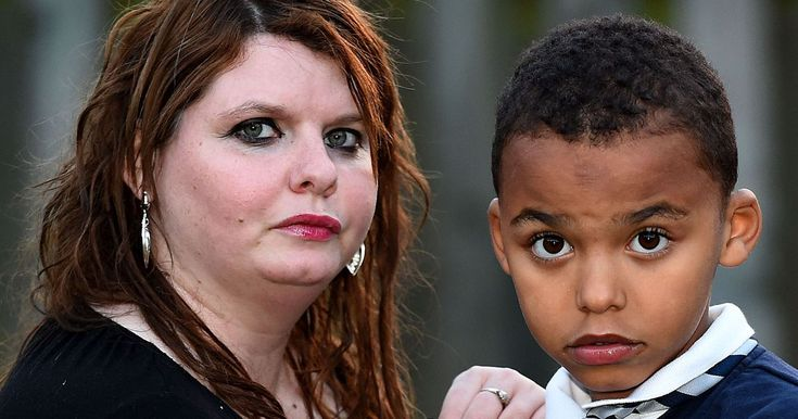 Two schoolboys, aged