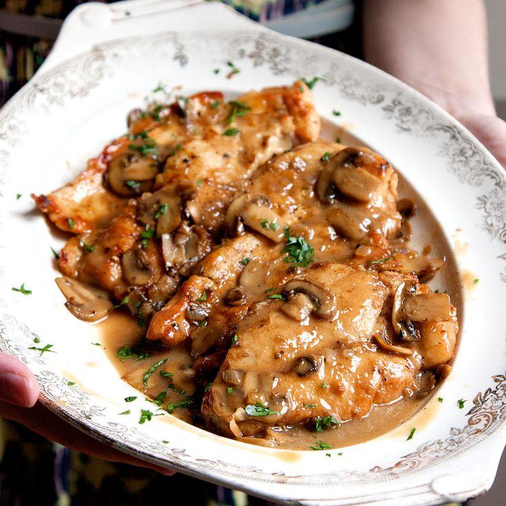 Csirkés finomság gombával és csábító szósszal, jobb mint a hagyományos ragu…