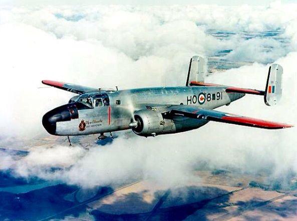 RCAF North American B -25 Mitchell (twin-engine, medium bomber)