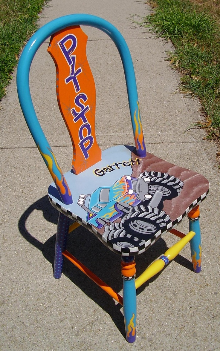 Pit Stop Monster Truck timeout chair
