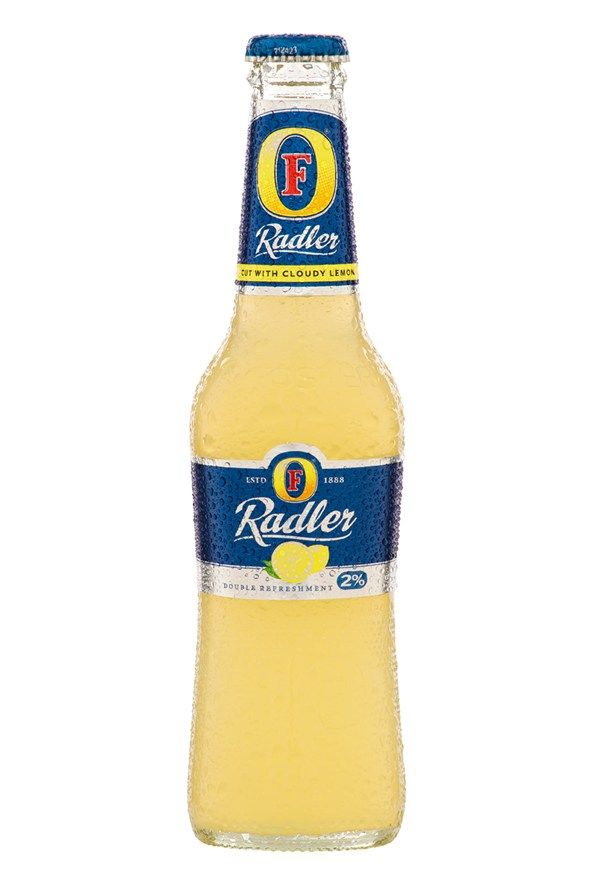 Swap Foster's Radler…  Lager made ladylike, this tastes like Grandma's ol' cloudy lemonade but with a kick.   Calories: 105