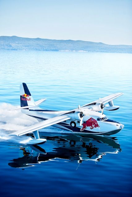 The Red Bull sea plane   Murray Mitchell