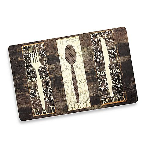Beautiful Mohawk Home Kitchen Utensil Comfort Floor Mat