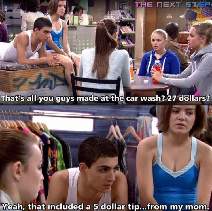 Emily is shocked!! But wow, that's a lot of money for your first CAR WASH Emily!!