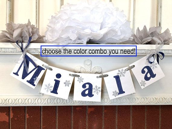 Onederland Birthday decor Girl   Baby Its Cold Outside