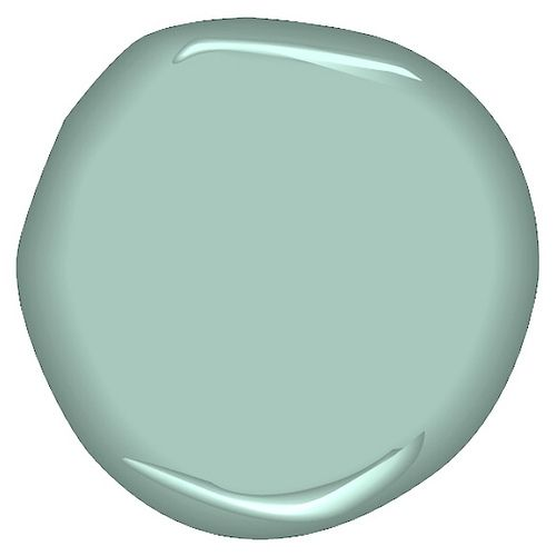 Benjamin Moore - Antique Glass  Love this color!!