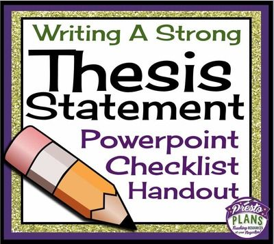thesis on assessing writing Be able to analyze a literary work and draft a thesis statement for that reading be able to write a thesis statement that will include attitude, argument and analysis one of the hardest things for students is drafting the thesis statement many students fail to understand the importance of drafting.