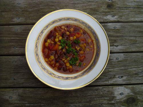 Vegetarian Black Bean Chili......................................... from Whitewater Cooks
