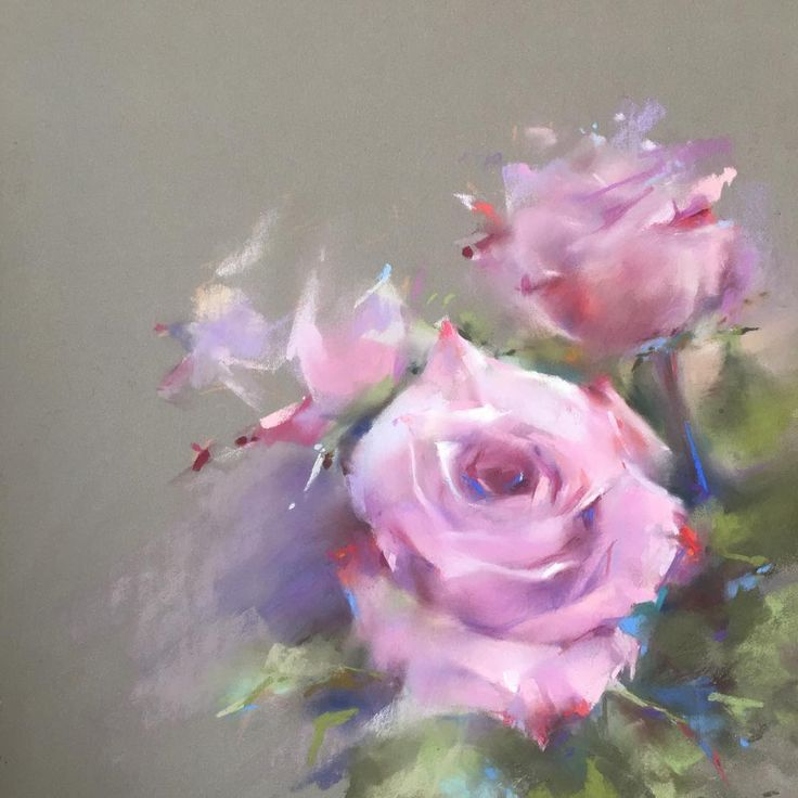 Soft pastel roses