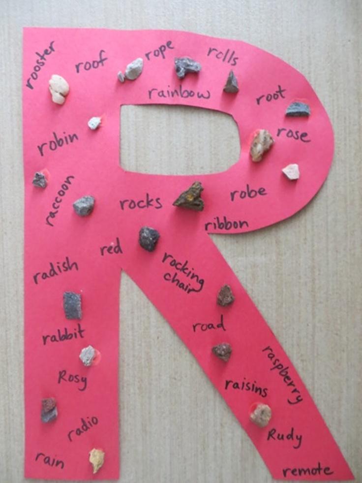 Letter r craft
