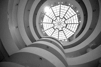Solomon R. Guggenheim Museum - Designed by Frank Lloyd Wright - Opened in 1959