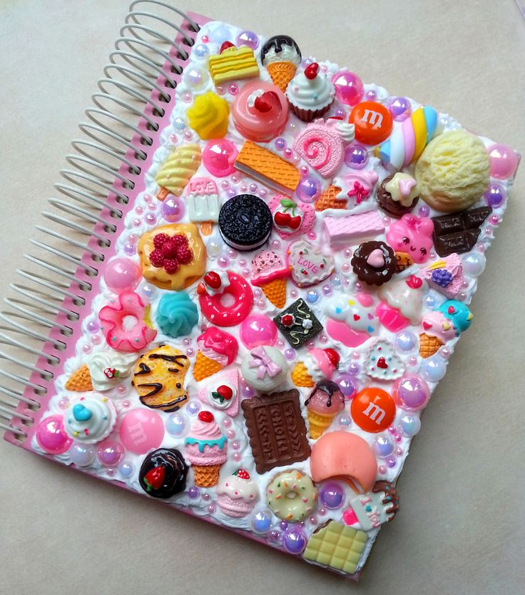 DIY Decoden Notebook More