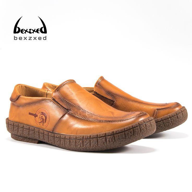 Brit - Mann - Zapatillas para hombre Orange wei?, color, talla 44