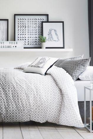 Ombre Geo Print Bed Set