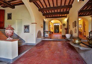 Main entrance of the villa