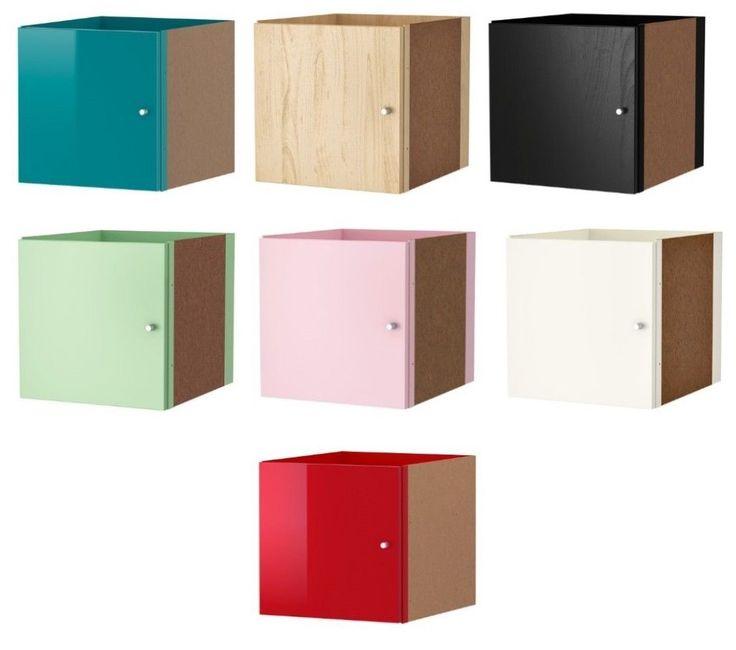 kallax insert ikea and doors on pinterest. Black Bedroom Furniture Sets. Home Design Ideas