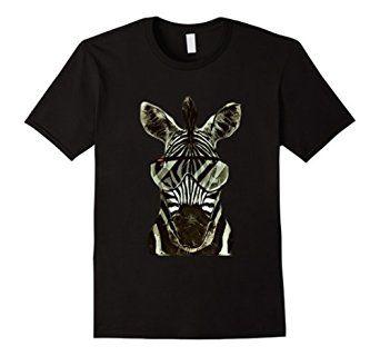 #zebra #africa #tshirt #shirt  #animal #lovers #modern #trendy #trends #savanna #funny http://goo.gl/6mJMXg