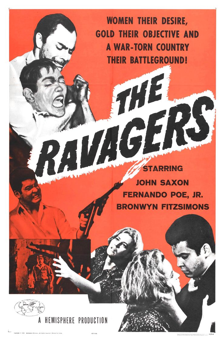 The ravagers 1965 movie poster