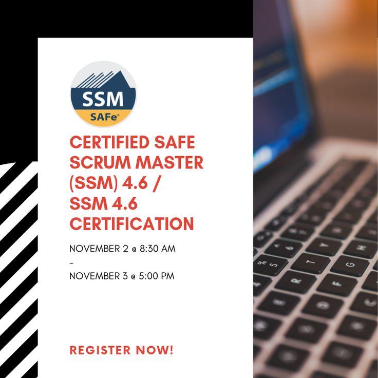 Certified safe scrum master ssm 46 ssm 46