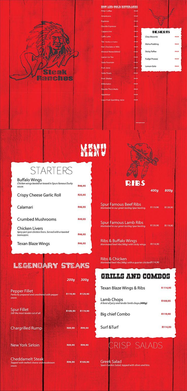Class: 1 Year Print Design & Publishing || Recreate your favorite restaurants menu. http://friendsofdesign.net/1-year-print-design-publishing